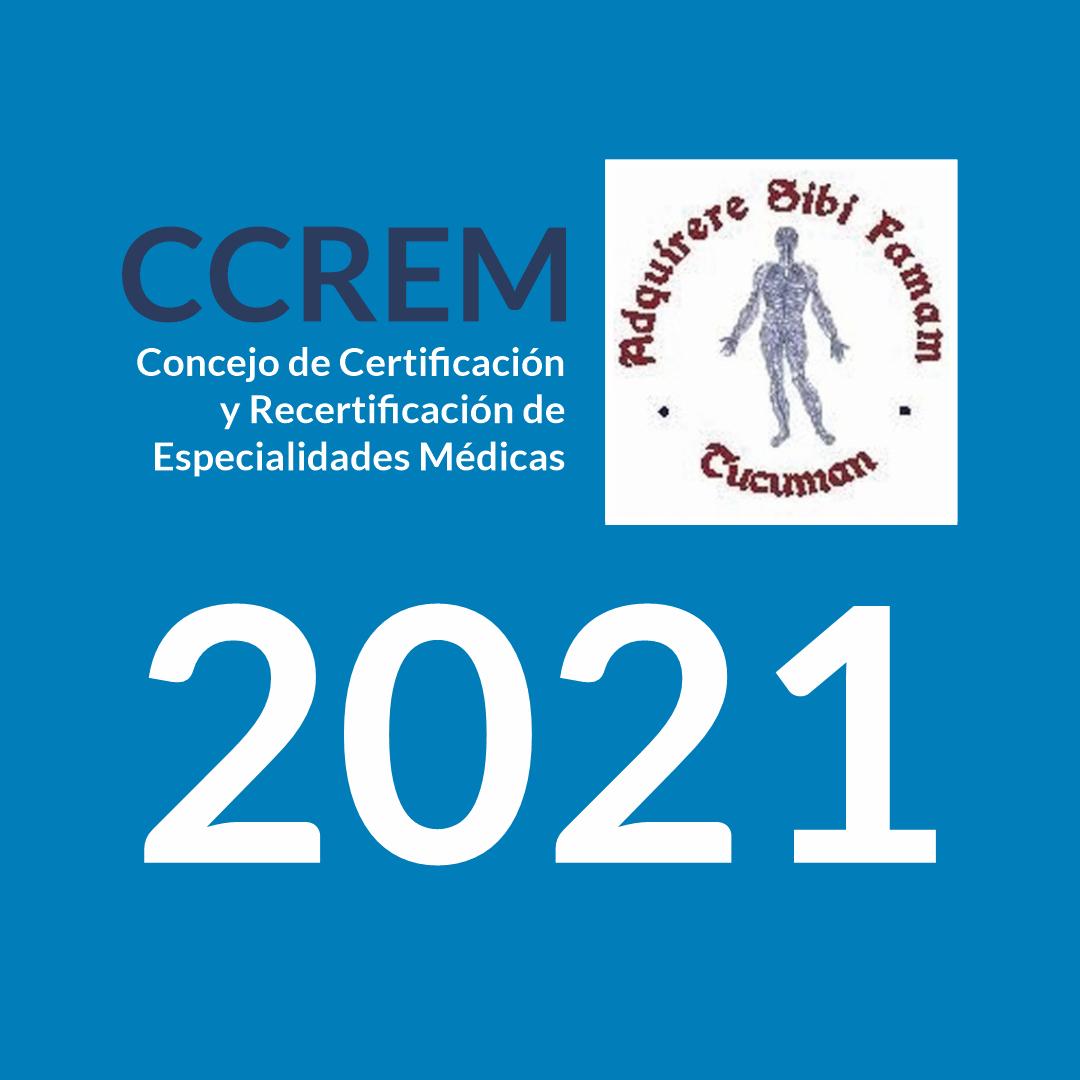 CCREM: cronograma 2021