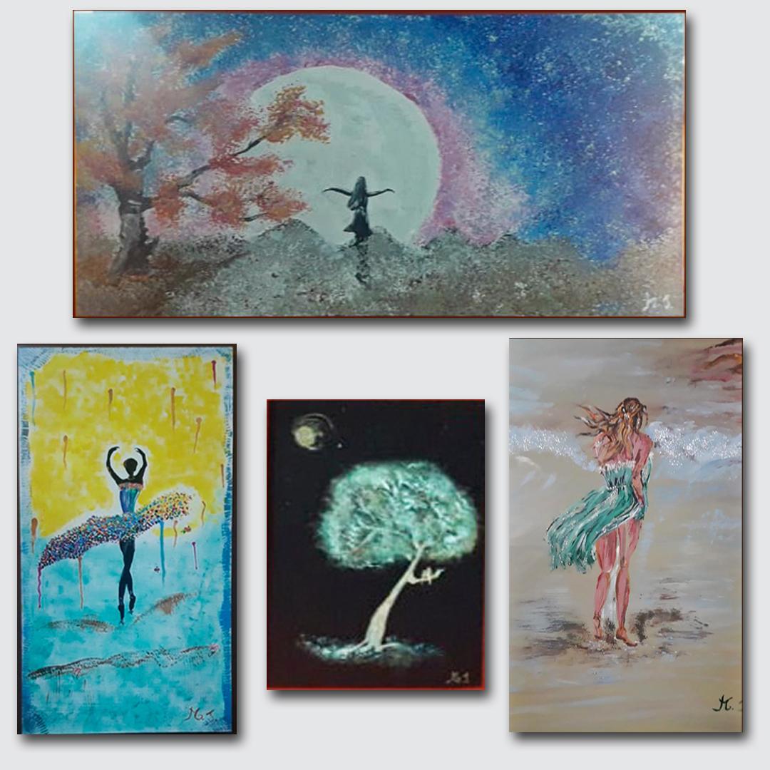 Muestra de Pinturas por el Mes de la Mujer en el CMT