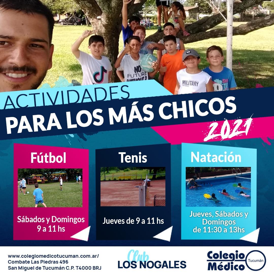 Sumate! Escuelitas Deportivas en Tu Club Los Nogales