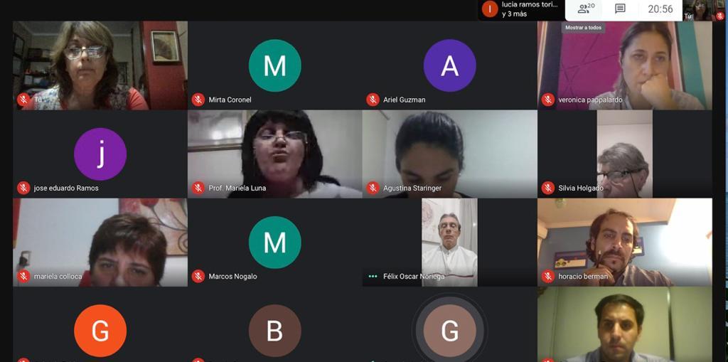 El Campus Virtual – Reunión con Presidentes de Sociedades
