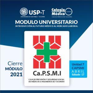 Lee más sobre el artículo Culminó el MÓDULO UNIVERSITARIO SPT / CMT 2021