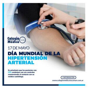 Lee más sobre el artículo 17 de Mayo – Día Mundial de la Hipertensión Arterial