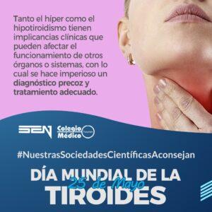 25 de Mayo – Día Mundial de la Tiroides