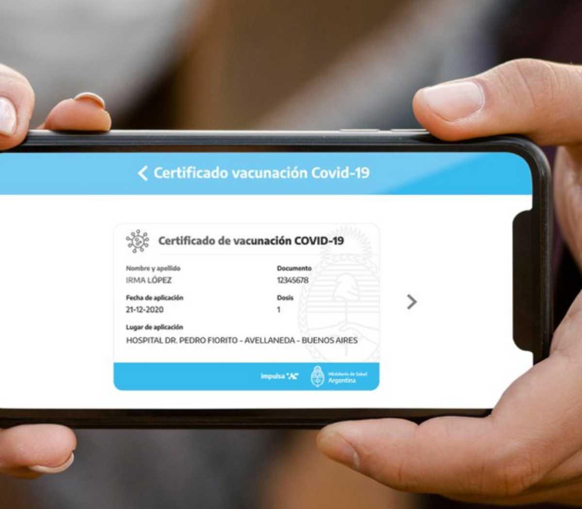 Lee más sobre el artículo Ya podes obtener tu Certificado de Vacunación Digital