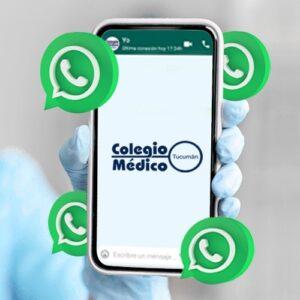 Lee más sobre el artículo Cada Día Más Conectados: WhatsApp del Colegio Médico Tucumán