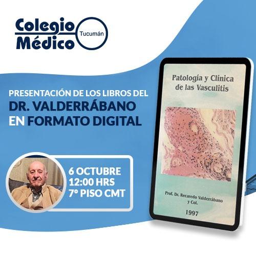 En este momento estás viendo Presentación de los Libros del Dr. Valderrábano en Versión Digital