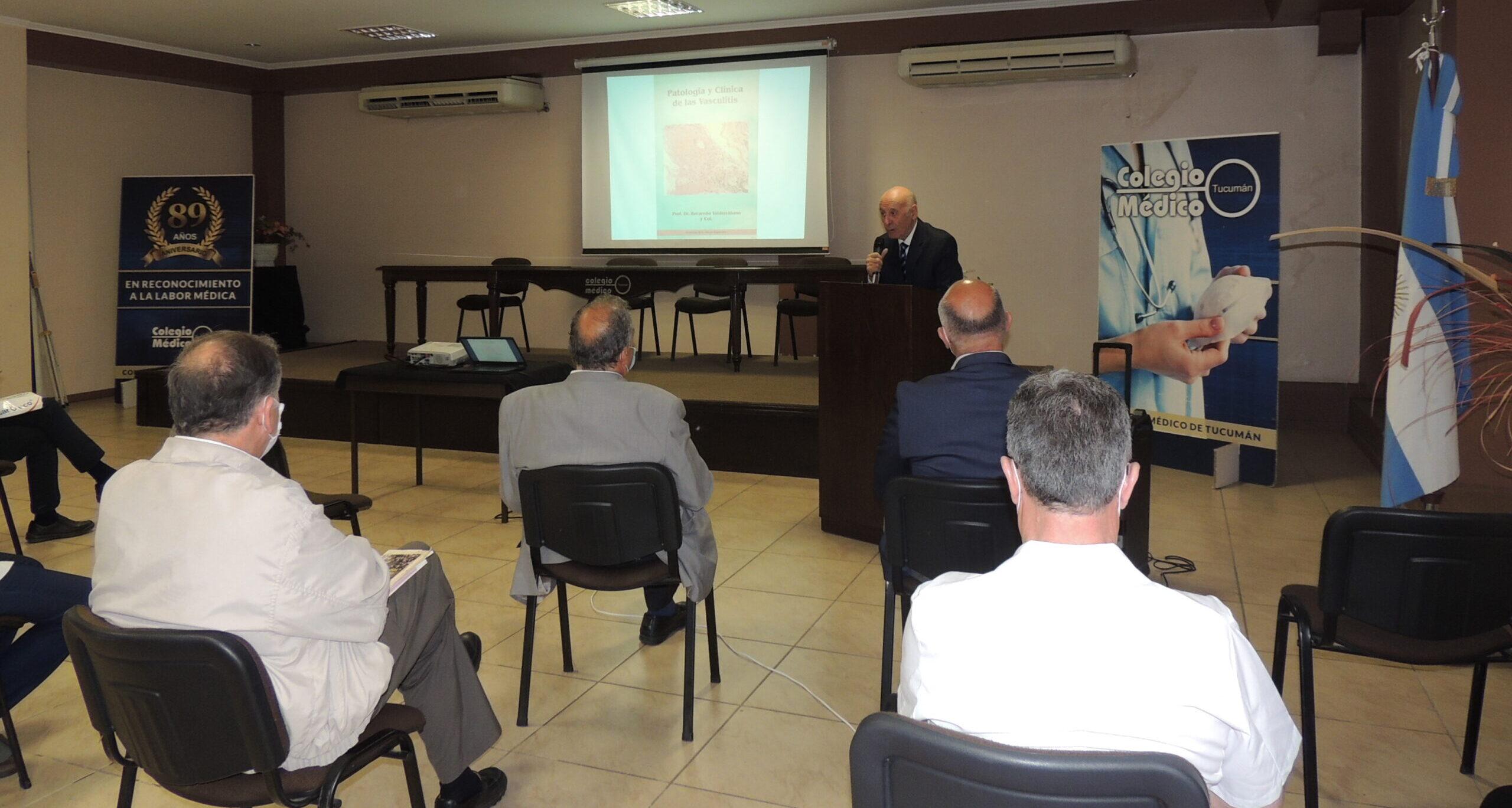 Lee más sobre el artículo Se realizó la Presentación de las Publicaciones en Versión Digital del Dr. Valderrabano